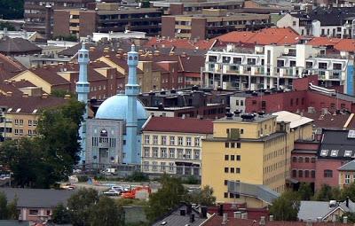 Mezquita atacada en Oslo