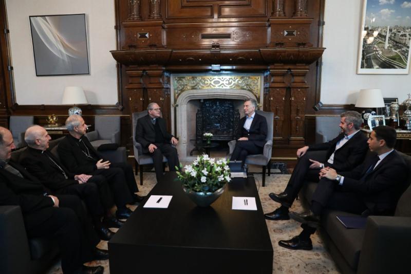 Los obispos, con Macri