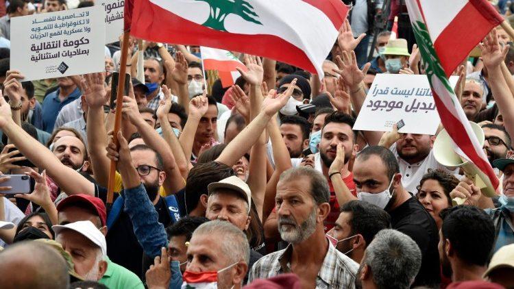 Crisis en Líbano