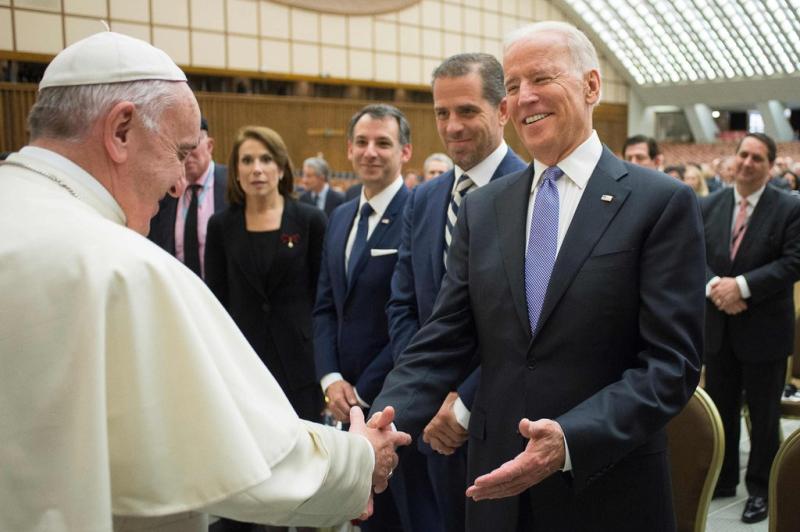 Biden, con el Papa